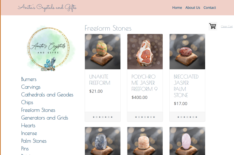 Anitas Crystals and Gifts